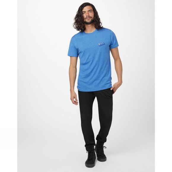 Tentree Forest Mix Short Sleeve Tee Blue Jay Blue Heather