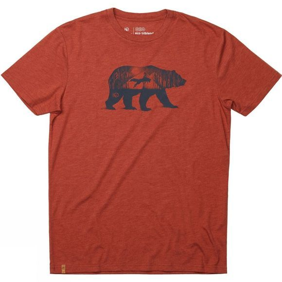 Tentree Den Short Sleeve Tee Terra Orange Heather