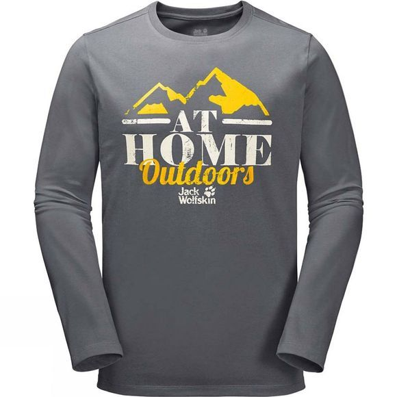 Mens At Home Long Sleeve Top