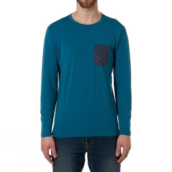 Mens Crimp Long Sleeve Tee