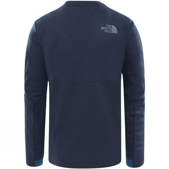 The North Face Mens Vista Tek L/S Graphic T-shirt Shady Blue Heather