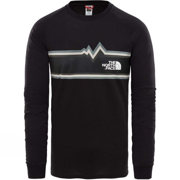 The North Face Mens L/S Ones Tee Shirt TNF Black