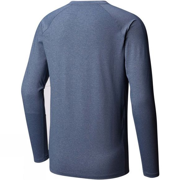 Mountain Hardwear Mens Arch Long Sleeve T-shirt Zinc