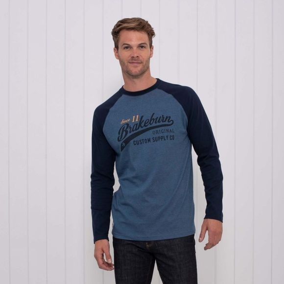 Mens Swoosh Long Sleeve Raglan