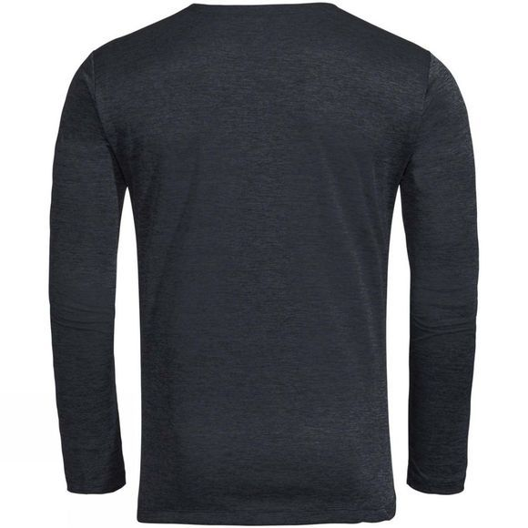 Vaude Men's Essential LS T-Shirt Phantom Black