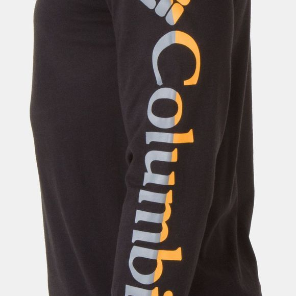Columbia Mens Columbia Lodge Long Sleeve Tee Black