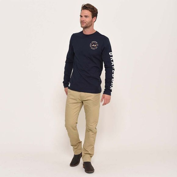 Brakeburn Winter series t-shirt Navy