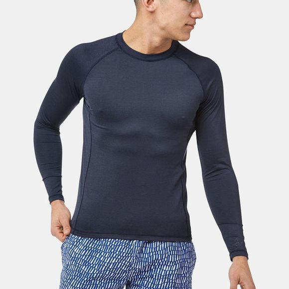 Craghoppers NosiLife Helio Long Sleeve Top Blue Navy Marl