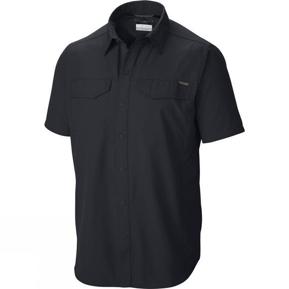 Columbia Mens Silver Ridge Short Sleeve Shirt Black