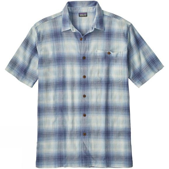 Patagonia Mens A/C Shirt Costa: Railroad Blue
