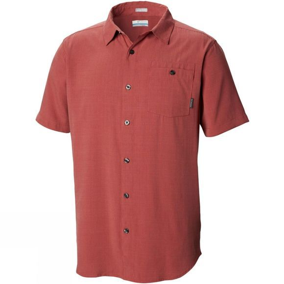 Columbia Men's Mossy Trail Short Sleeve Shirt Rose Dust