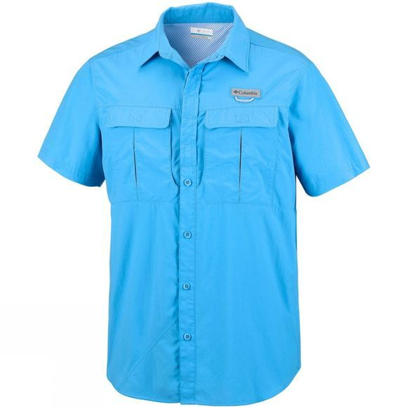 Columbia Men's Cascades Explorer Short Sleeve Shirt Yacht