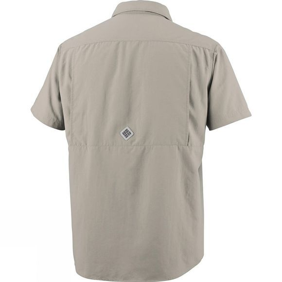 Columbia Men's Cascades Explorer Short Sleeve Shirt Fossil