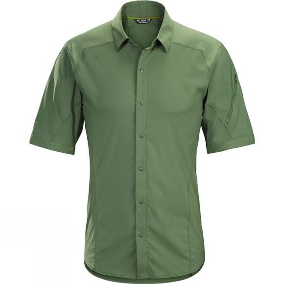 Arc'teryx Mens Elaho Short Sleeve Shirt Cypress