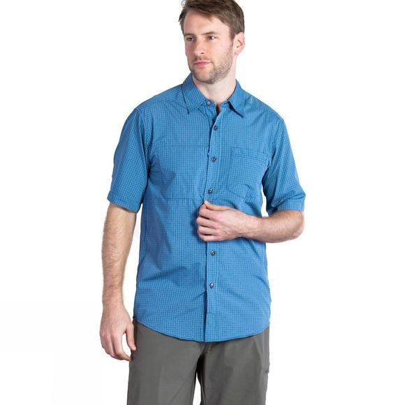 Mens Corsico Check Short Sleeve Shirt