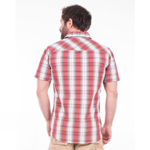 Mens Check Short Sleeve Shirt