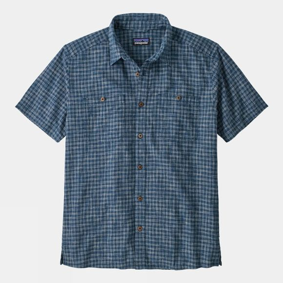 Patagonia Mens Back Step Shirt Tino:Industrial Green