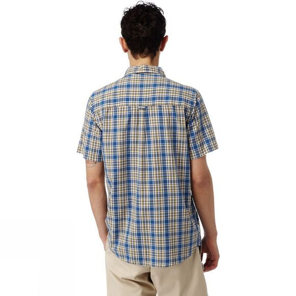 Mens Northbrook Short Sleeved Check Shirt