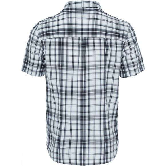 The North Face Mens Pine Knot Shirt Asphlt Gry Plid
