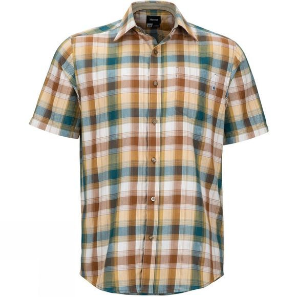 Marmot Mens Notus Shirt Dark Maple