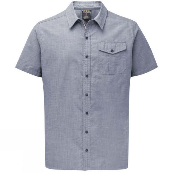 Mens Lokta Short Sleeve Shirt