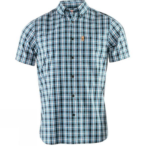 Fjallraven Mens Övik Short Sleeve Shirt Dusk