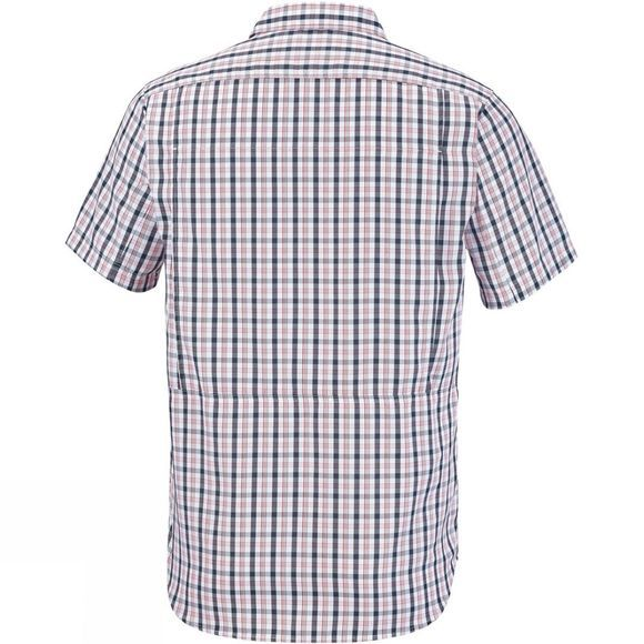 Columbia Mens Silver Ridge 2.0 Multi Plaid Short Sleeve Shirt Black Gingham