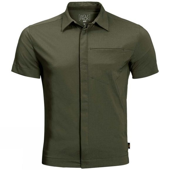 Jack Wolfskin Mens JWP Shirt Woodland Green