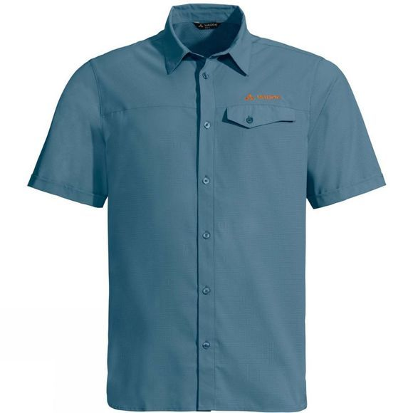 Vaude Men's Rosemoor Shirt Blue Gray