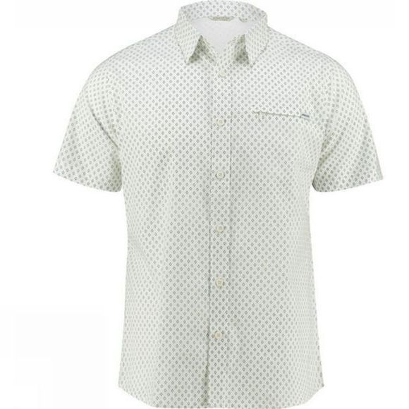 Ayacucho Mens Hiker II Stretch Short Sleeve Shirt Tensel/Cot Print