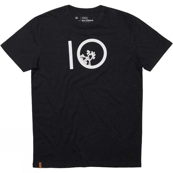 Tentree Ten Short Sleeve Tee Meteorite Black Heather
