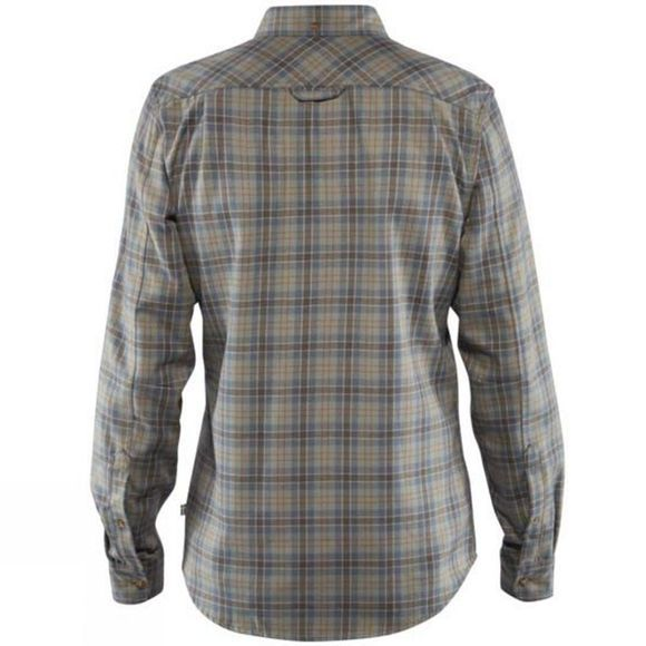 Fjallraven Mens Stig Flannel Shirt Ash Grey