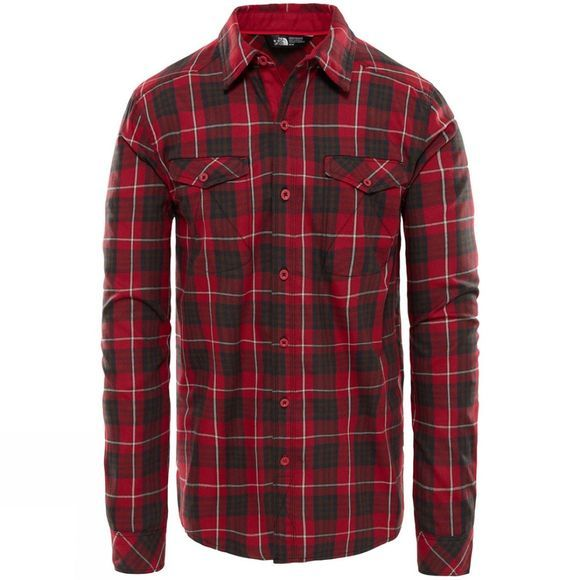 Mens Long Sleeve Lodge Shirt