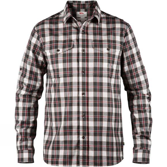Fjallraven Mens Singi Long Sleeve Flannel Shirt Dusk