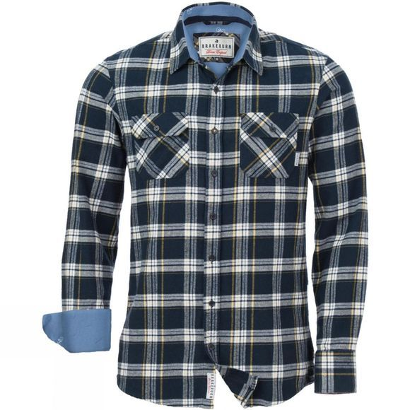 Mens Check Flannel Shirt