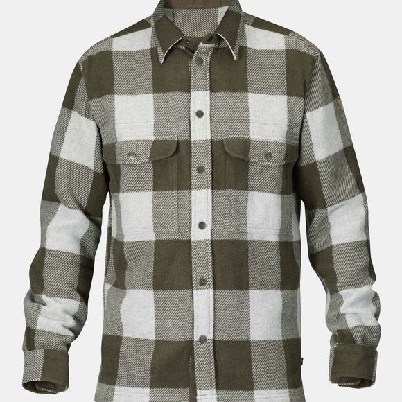 Fjallraven Mens Canada Shirt Deep Forest