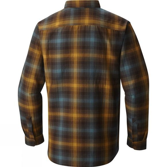 Mens Reversible Plaid Long Sleeve Shirt