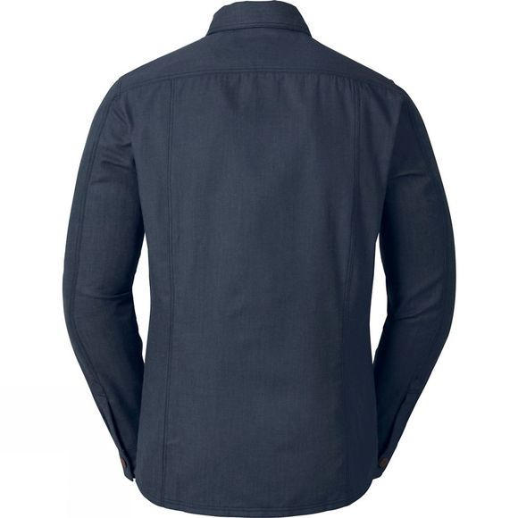 Vaude Mens Belluno Long Sleeve Shirt Eclipse