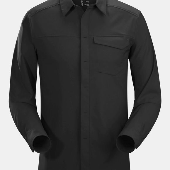 Arc'teryx Mens Skyline Long Sleeve Shirt Black