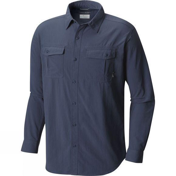 Mens Twisted Divide Long Sleeve Shirt