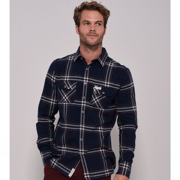 Mens Long Sleeve Flannel Shirt