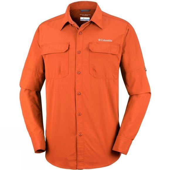 Columbia Mens Silver Ridge II Long Sleeve Shirt Desert Sun