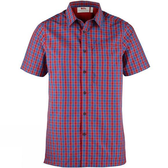 Fjallraven Fjall Mens Svante Shirt SS Deep Red