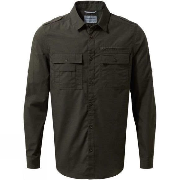 Mens Adventure Trek Long Sleeve Shirt