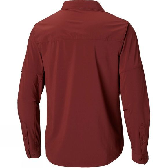 Columbia Mens Triple Canyon Solid Long Sleeve Shirt Tapestry