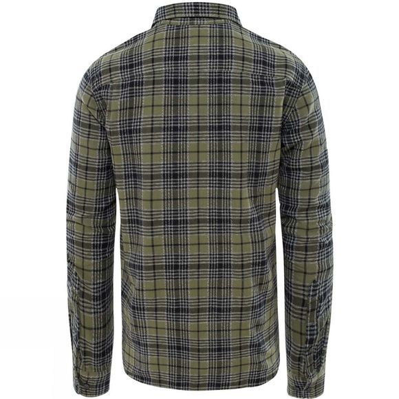 Mens Long Sleeve Arroyo Flannel Shirt
