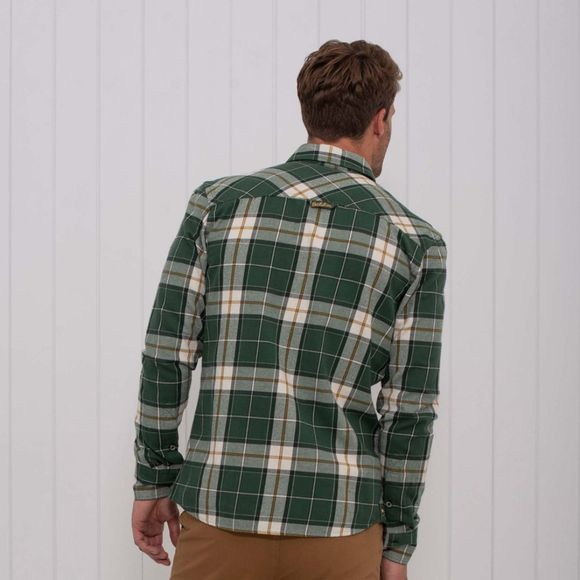 Mens Brushed Flannel Check Shirt