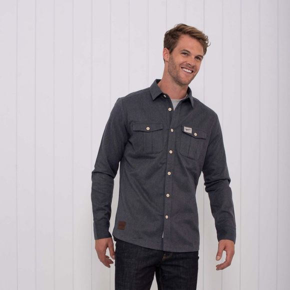 Mens Brushed Flannel Over Shirt