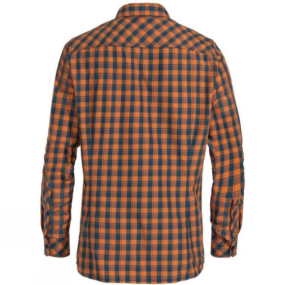 Vaude Men's Heimer LS Shirt III Orange Madder