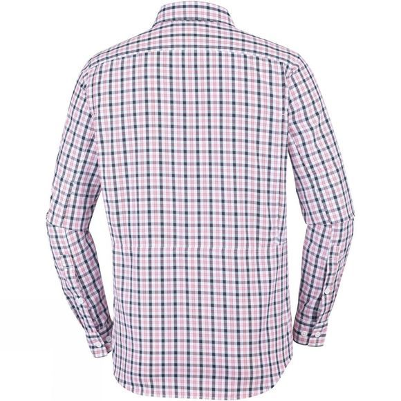 Columbia Mens Silver Ridge 2.0 Plaid L/S Shirt Black Gingham